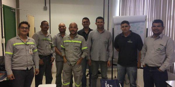 Curso de Análise de Vibrações Módulo 4 na empresa Ferroport – Porto de Açú em São João da Barra RJ – Análise de Vibrações em Sistema de Engrenagens e Planetários – Certificação Internacional da Fupai/Ivmta- Período 29 e 30 de Novembro 2017.