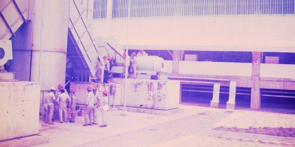 EMPRESA: ALBRAS – ALUMÍNIO BRASILEIRO S.A –  DÉCADA DE 80 – BARCARENA – PA