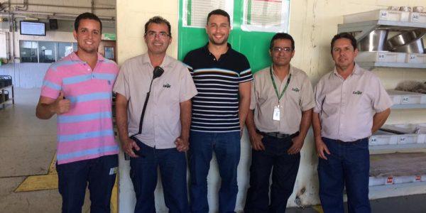 Transferência de Tecnologia (Análise de Vibrações em Máquinas de Baixa Rotação ) – Equipe de Preditiva da Cargill de Uberlândia e Castro- Período 16-17-18-19-20 de Outubro.